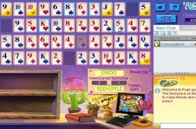 Pogo Addiction Solitaire